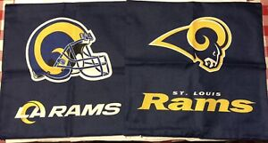 """Los Angeles Rams Cover Sofa Throw Pillow Case 18""""X18"""" Chair Couch - set of 2"""