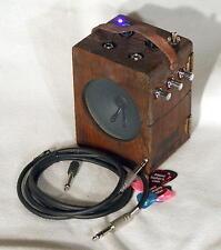 Electric Cigar Box Guitar Practice Amp - Boss DM-2 Clone Delay