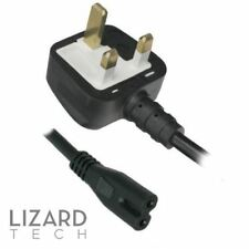 NEW UK Mains AC Power Lead Cable Cord For Epson Stylus TX419 TX550W