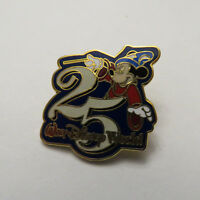Disney WDW 25th Anniversary Sorcerer Mickey Pin