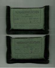 BUNDESWEHR - 2 Stück VERBANDPÄCKCHEN STERIL (9)