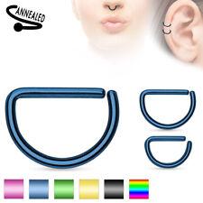 D-Form Fake Piercing blau