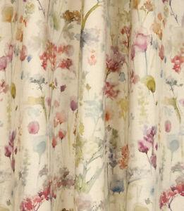 Voyage Maison Ilinizas Poppy Lined Pencil Pleat Curtains