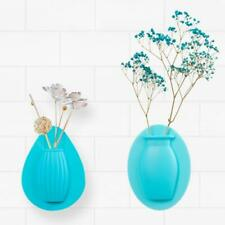 Magic Silicone Sticky Vase Flower Plant Wall Hang Container Bottle Storage Decor