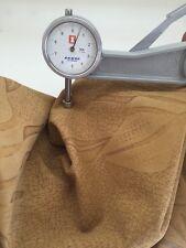 Italian Lambskin Leather Nubuck Skins Yellow Crack Abstract Skin Mustard Flky
