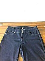Torrid Triple Button Zipper Stretch Jeggings Jeans Jegging Size 18R Dark blue