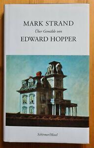 Über Gemälde von Edward Hopper, von Mark Strand, Schirmer/Mosel