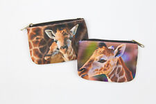 Giraffe Coin Purse - Animal Lover Wallet - Money Hand Bag - Stocking Stuffers