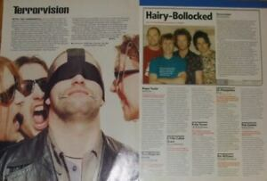 Terrorvision FULL PAGED magazine CELEBRITY CLIPPINGS photos article
