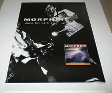 MORPHINE Promo Poster / CURE FOR PAIN - Ryko !!