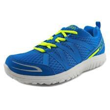 Chaussures bleues en cuir pour garçon de 2 à 16 ans Pointure 38