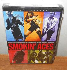 Smokin' Aces (DVD, 2007, Full Frame) Ben Affleck Andy Garcia Ryan Reynolds NEW!