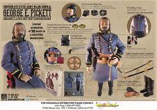 "1/6 scale Confederate States Army Major General Commander ""George E. Pickett"""