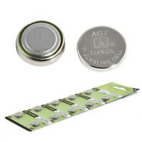 10× AG7 LR927 395 SR927 195 1.5V Alkaline Coin Button Cells Sturdy Watch Battery