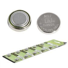 10× AG7 LR927 395 SR927 195 1.5V Alkaline Coin Button Cells Sturdy Watch Battery