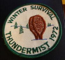 Thundermist Winter Survival 1972 BSA Patch