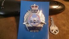 WESTERN AUSTRALIA POLICE CAP BADGE HMK SHERIDAN PERTH Australian RARE OBSOLETE