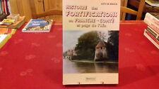 HISTOIRE DES FORTIFICATIONS EN FRANCHE-COMTE ET PAYS DE L'AIN.G.LE HALLE(159ray3