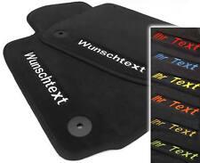 Bestickt Bedruckt Fußmatten passend für VW Golf 5 6 Scirocco Name Text Werbung