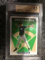 1993 Topps #98 Derek Jeter Yankees RC Rookie HOF BGS 9.5 Gem Mint