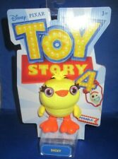 """DISNEY PIXAR TOY STORY 4 MOVIE COLLECTOR 7"""" DUCKY POSABLE , NEW"""