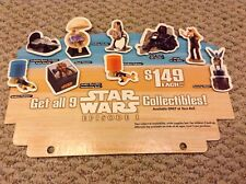 Star Wars Episode 1 - Taco Bell - Cash Register Topper - Store Display
