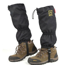 Gators Black Hiking Climbing Leggings Waterproof Walking Trekking Gaiters Boot