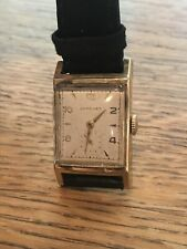 Longines 17 Jewel 10K Gold filled Mechanical Mens Watch