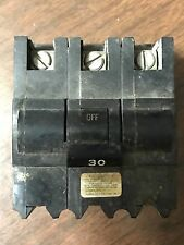 Fpe Federal Pacific Nb330 Bolt On In Breaker 30Amp 30 A 3 Phase Pole