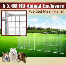 6 x 6M Heavy Duty Animal Enclosure Fencing Barrier Dog Space Kennel Outdoor BNE