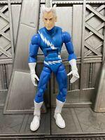 "Marvel Legends Hasbro Blob BAF Series X-Men Blue QUICKSILVER 6"" Action Figure"