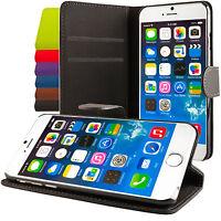 Apple iPhone 6 (4,7) 6 (5,5) CUSTODIA COVER CASE A LIBRO CON STAND WALLET