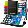 Apple iPhone 6 (4,7) 6 (5,5) CUSTODIA COVER CASE A LIBRO CON STAND WALLET