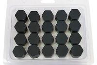 20 x Silikon-Radschrauben Muttern Kappen Bolzenabdeckungen 19 mm für Audi VW BMW