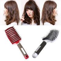 Hairbrush Bristle Nylon Hair Comb Scalp Massage Salon Hairdressing Styling Tools