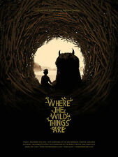 Where the Wild Things Are by Matt Taylor Art Poster Mondo Tom Whalen Olly Moss