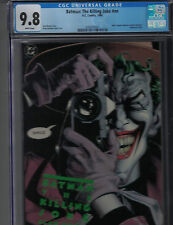 BATMAN THE KILLING JOKE-1ST. PRINTING-1988-ALAN MOORE-CGC 9.8!