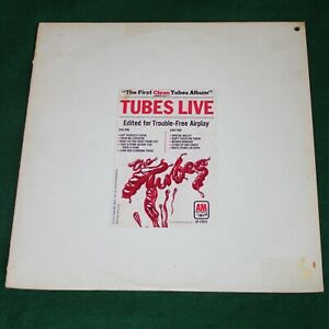 THE TUBES - FIRST CLEAN TUBES ALBUM. (US, 1978, SAMPLER, A&M, SP-17012)