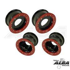 YFZ 450 450R  Front   Rear Wheels  Beadlock  10x5 and 9x8  Alba Racing  B/R  41