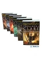 Shadowhunters Series Cassandra Clare Set 6 Books Mortal Instruments Collection