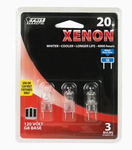 BPXN20G83 Feit Electric 20-Watt EQ T4 Bright White Tubular Light Fixture Halogen