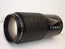 Pentax Takumar-A 70-200mm F/ 4 Lens SN5946199