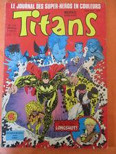 TITANS N)° 114 Les nouveaux mutants Les vengeurs