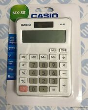 Casio MX-8B Ideal Student Home Business Office Workers Desk Top Calculator New