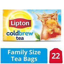 Lipton Cold Brew Family Size Iced Tea Bags - Black Tea - 22 bags