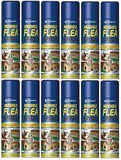 6x Household Flea Killing Spray for Cat Dog Carpet Soft Furniture Bed 200ml