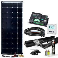 150W MPPT 12V Wohnmobil Komplettset EBL-Option Solaranlage Wohnwagen KFZ