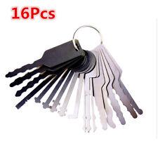16pc Stainless Steel Car Opening Kit Access Door Unlock Keys Tool Auto Locks Set