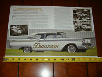 1959 FORD GALAXIE 50 MILLION FORDS - ORIGINAL 2018 ARTICLE