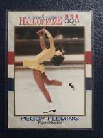 PEGGY FLEMING~Gold Medalist 1991 Impel U.S. Olympic HOF Card #16